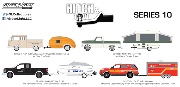 1:64 Hitch & Tow Series 10