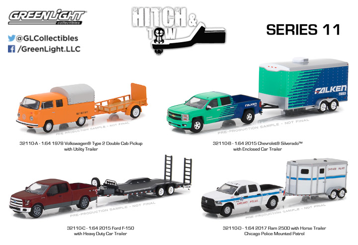 1:64 Hitch & Tow Series 11