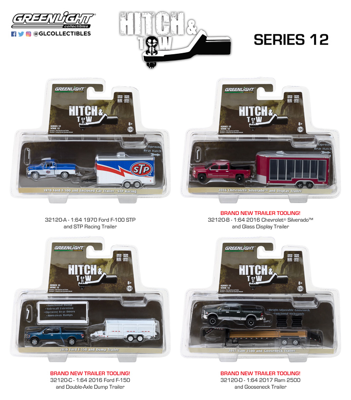1:64 Hitch & Tow Series 12