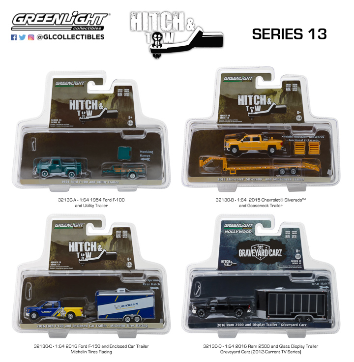 1:64 Hitch & Tow Series 13