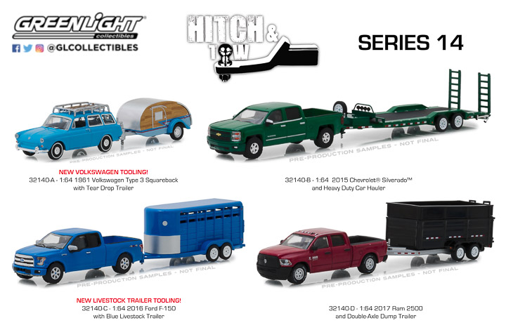 1:64 Hitch & Tow Series 14