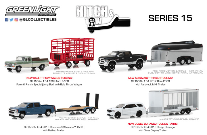 1:64 Hitch & Tow Series 15
