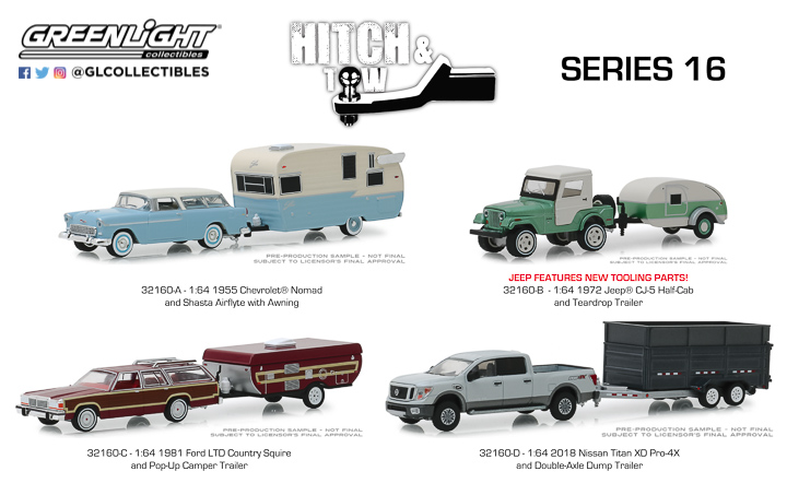 32160 - 1:64 Hitch & Tow Series 16