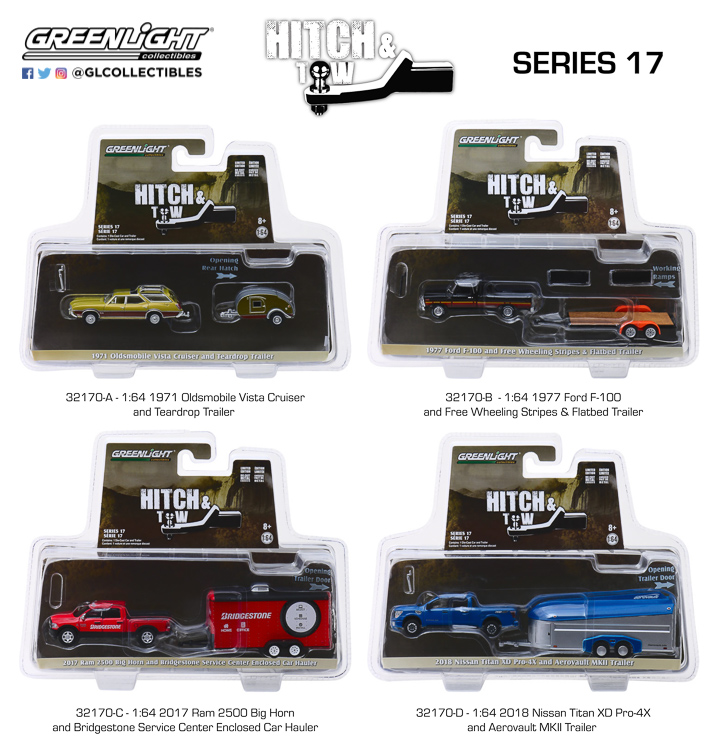 32170 - 1:64 Hitch & Tow Series 17