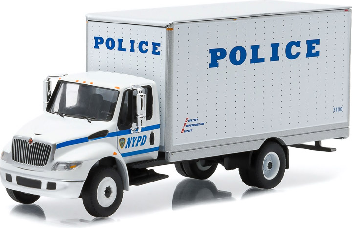 33030-A - 1:64 H.D. Trucks Series 3 - 2013 International Durastar Box Van