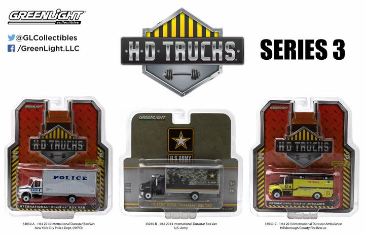 1:64 HD Trucks