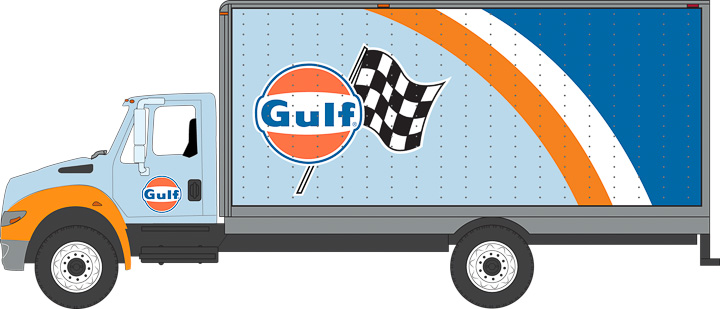 33070-B – 2013 International Durastar – Gulf Oil