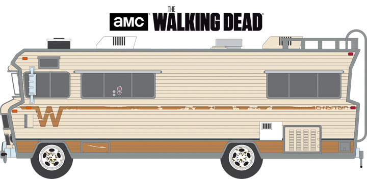 33070-A -The Walking Dead – Dale's 1973 Winnebago Chieftain