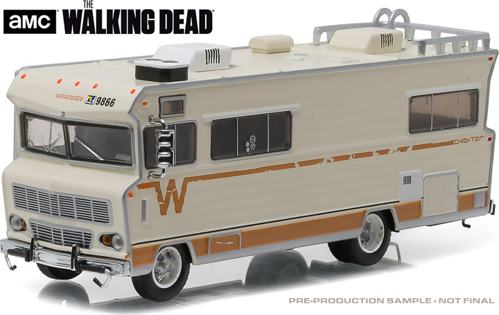 33070-A - 1:64 H.D. Trucks Series 7 - 1973 Winnebago Chieft