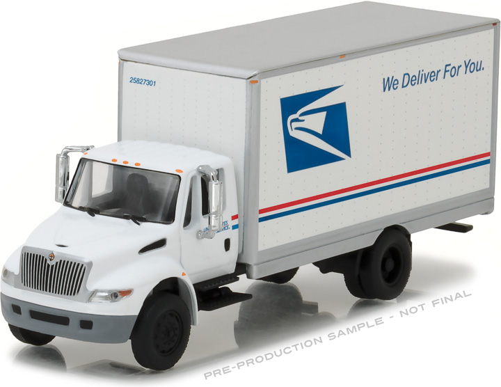 33090-B - 1:64 H.D. Trucks Series 9 - 2013 International Durastar Box Van - United States Postal Service (USPS)
