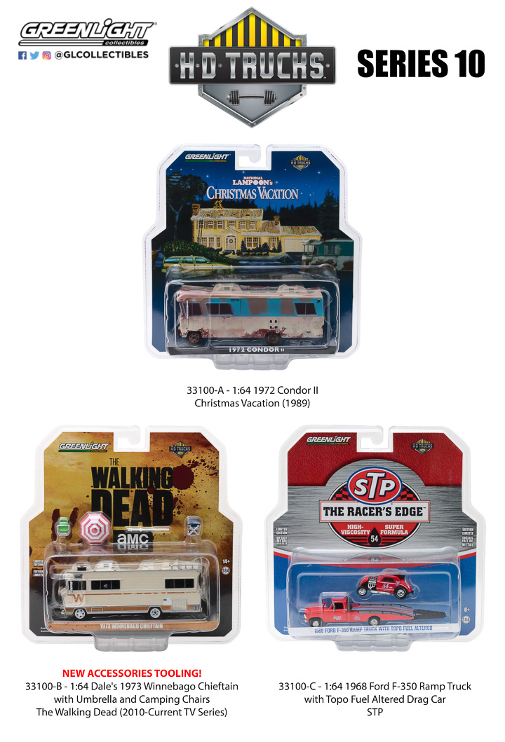 33100 HD Trucks - Series 10