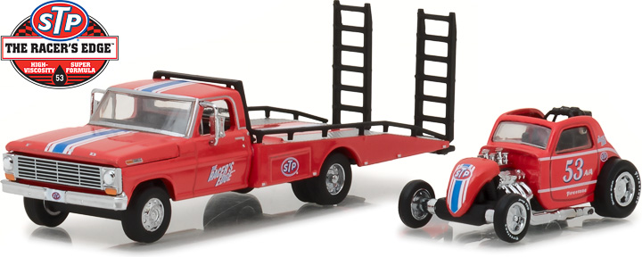 33100-C - 1:64 H.D. Trucks Series 10 - 1968 Ford F-350 Ramp Truck with Topo Fuel Altered STP