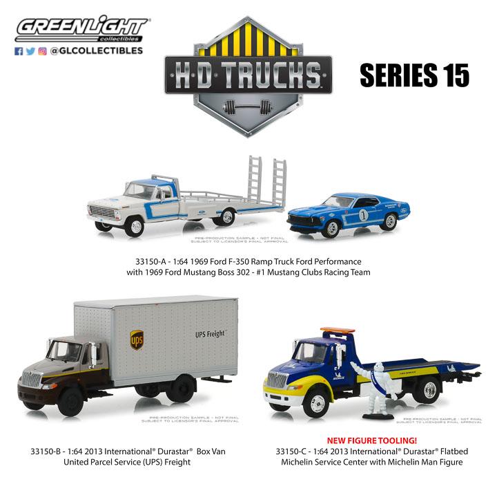 33150 - 1:64 H.D. Trucks Series 15
