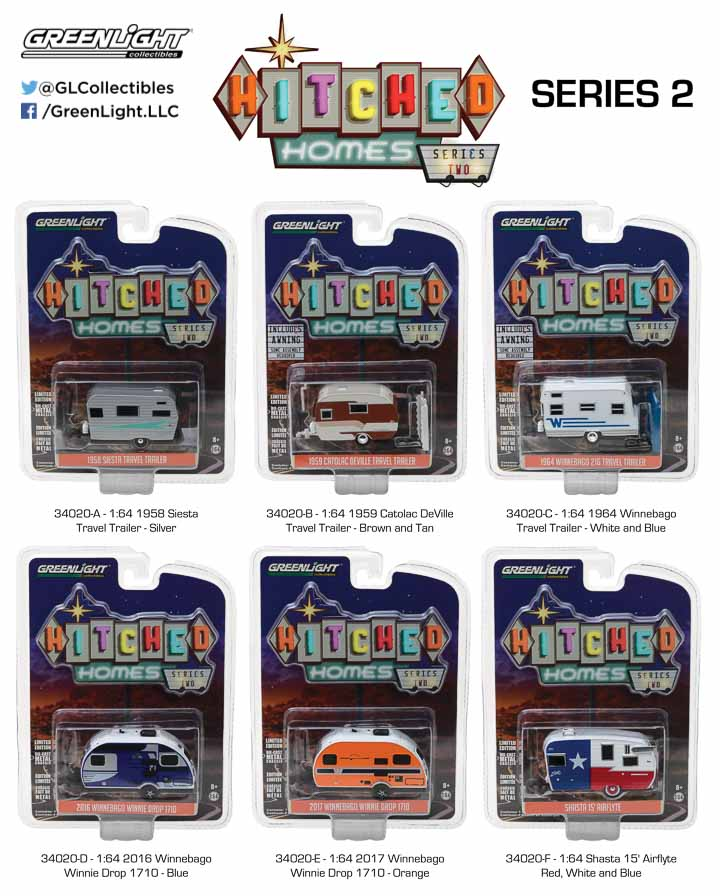 34020 - 1:64 Hitched Homes Series 2