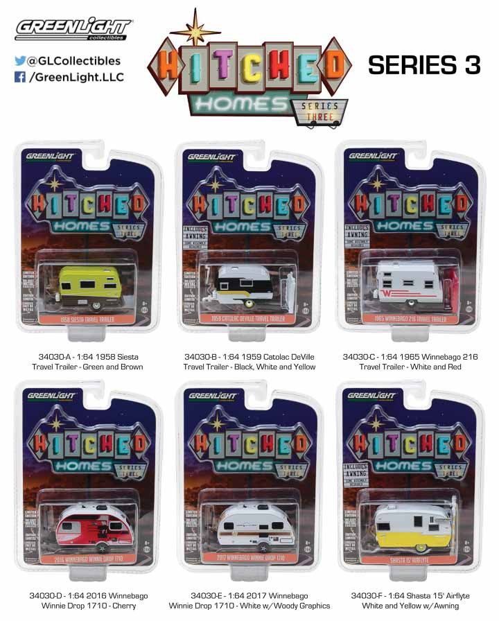 34030 - 1:64 Hitched Homes Series 3