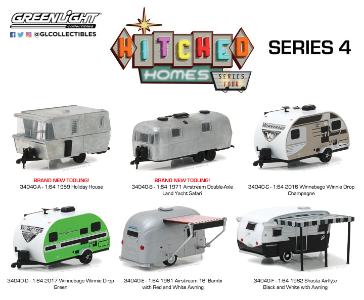 34040 - 1:64 Hitched Homes Series 4