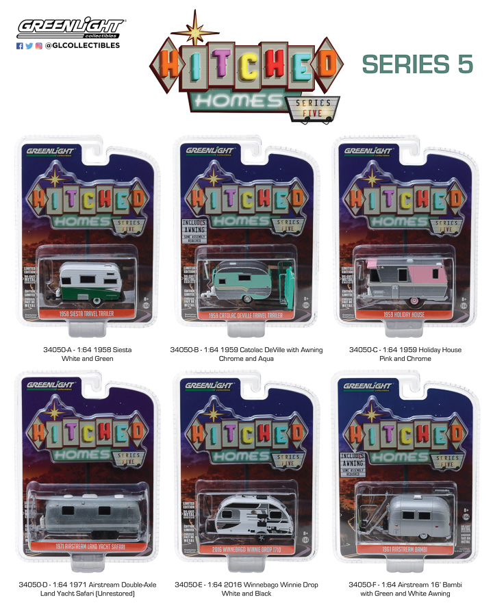 34050 - 1:64 Hitched Homes Series 5