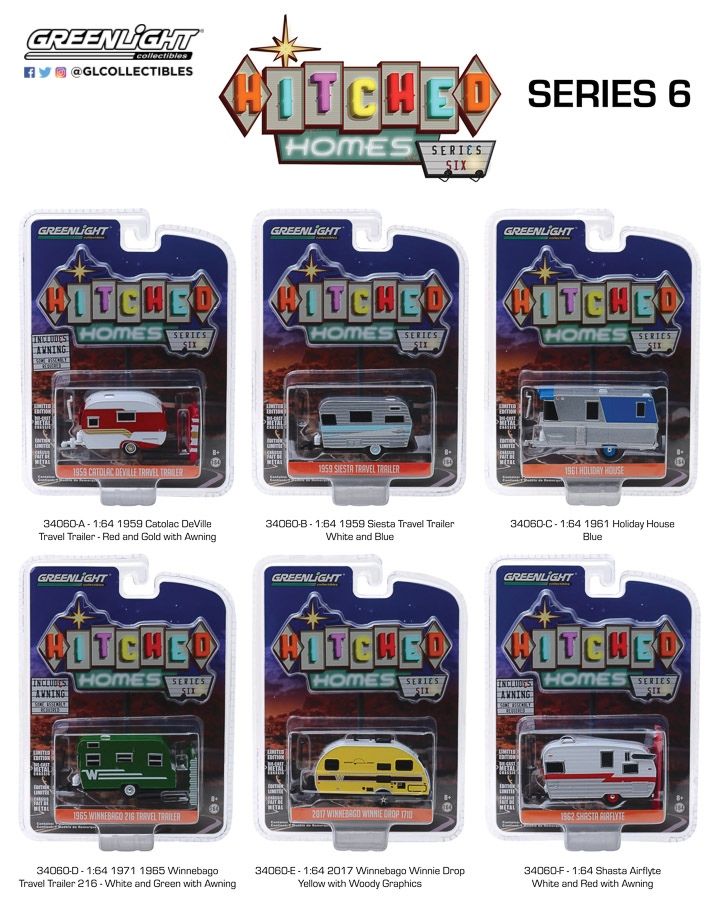 34060 - 1:64 Hitched Homes Series 6
