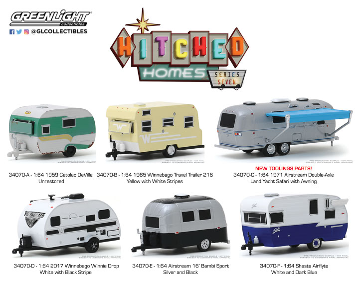 34070 - 1:64 Hitched Homes Series 7