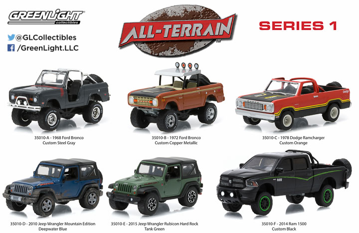 35010 - 1:64 All-Terrain Series 1
