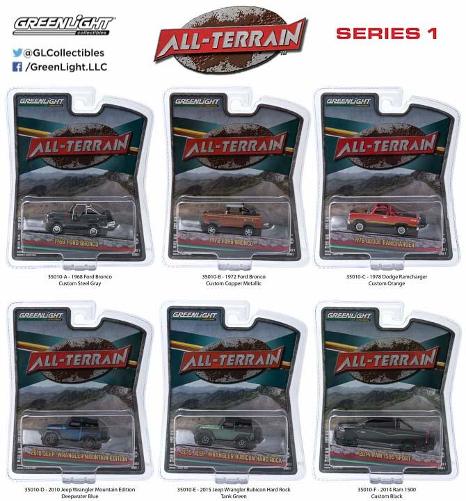35010 - 1:64 All-Terrain Series 1