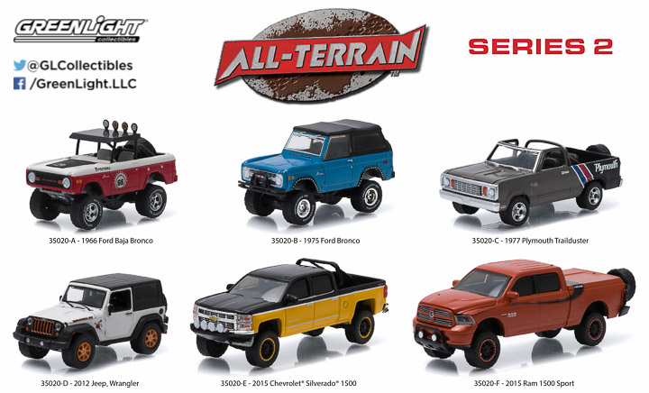 35020 - 1:64 All-Terrain Series 2