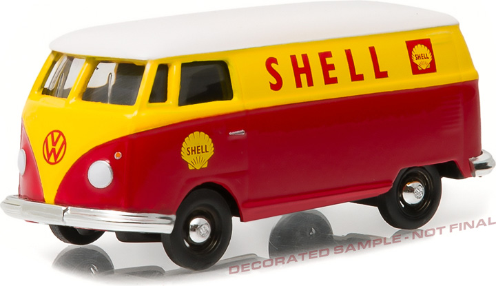 35040-A - Blue Collar Collection Series 1 - Volkswagen Type 2 Panel Van - Shell Oil