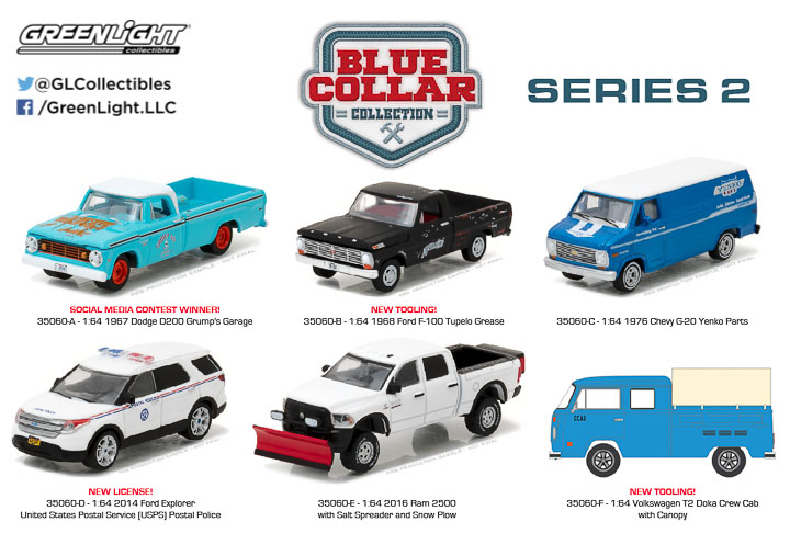 35060 - 1:64 Blue Collar Collection Series 2