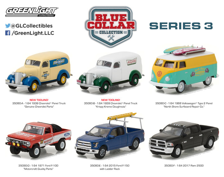 35080 - 1:64 Blue Collar Collection Series 3