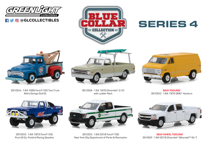 35100 - 1:64 Blue Collar Collection Series 4