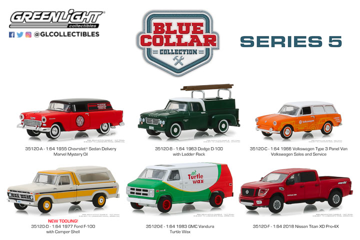 35120 - 1:64 Blue Collar Collection Series 5