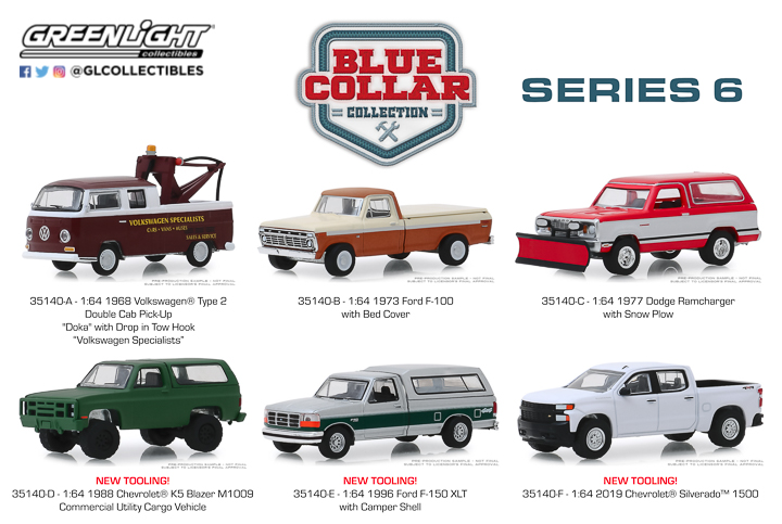 35140 - 1:64 Blue Collar Collection Series 6