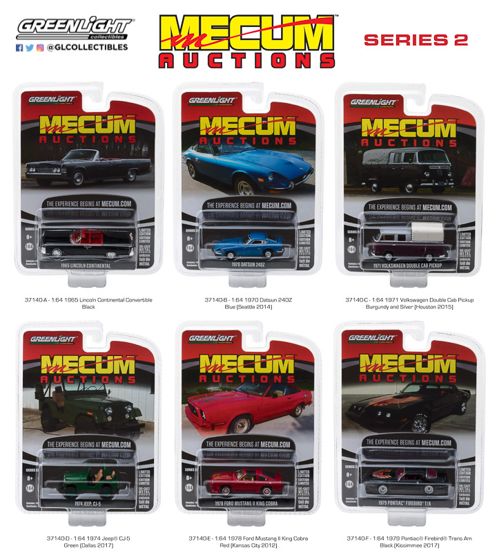 37140 -  1:64 Mecum Auctions Collector Cars Series 2