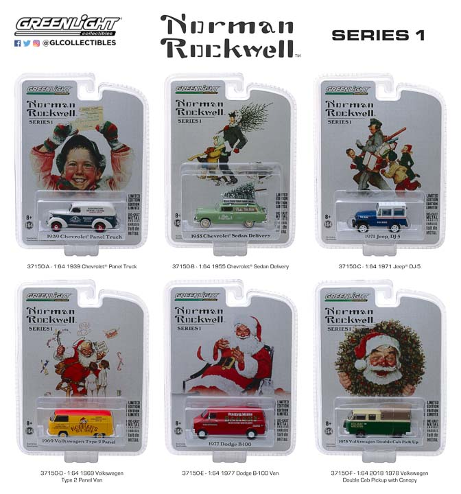 37150 - Norman Rockwell Delivery Vehicles Series 1