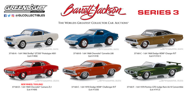 37160 - 1:64 Barrett-Jackson Scottsdale Edition Series 3