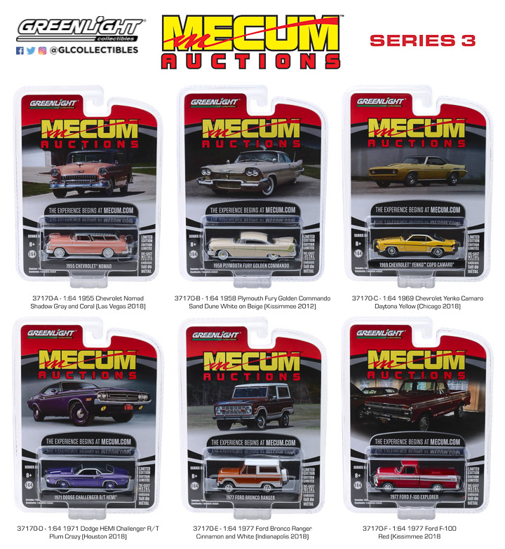 37170 -  1:64 Mecum Auctions Collector Cars Series 3