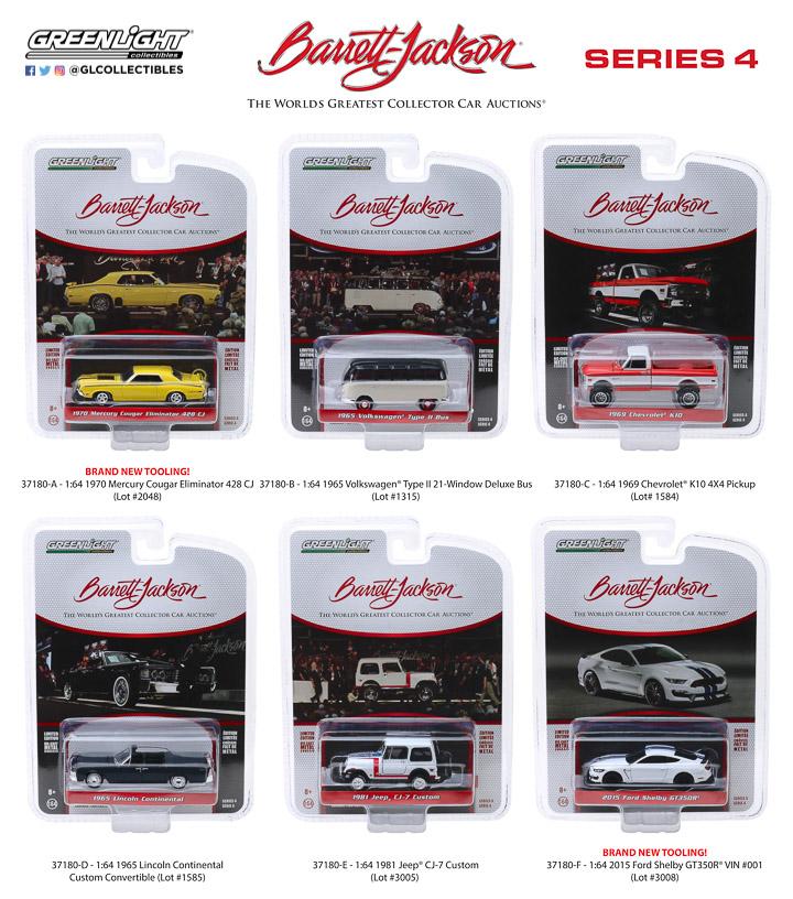 37180 - 1:64 Barrett-Jackson Scottsdale Edition Series 4
