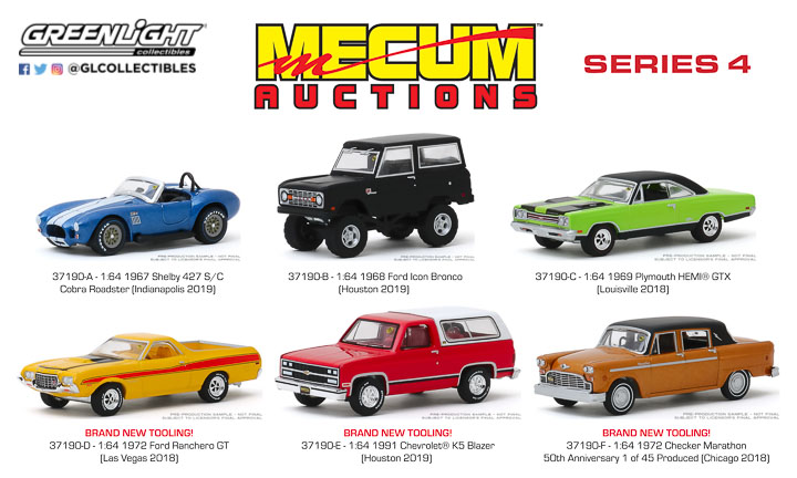 37190 -  1:64 Mecum Auctions Collector Cars Series 4