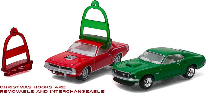 40010 - 1:64 GreenLight Holiday Ornaments Series 1