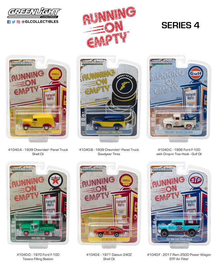 41040 - 1:64 Running on Empty Series 4