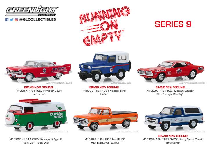 41090 - 1:64 Running on Empty Series 9