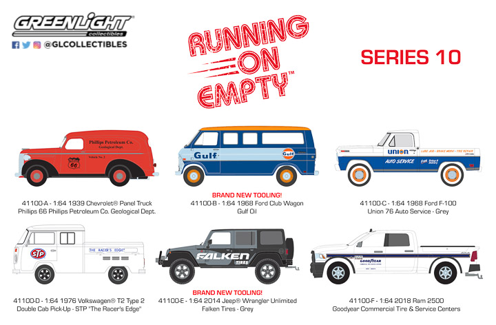 41100 - 1:64 Running on Empty Series 10