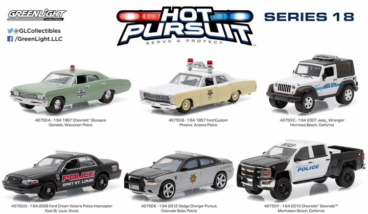 1:64 Hot Pursuit 18