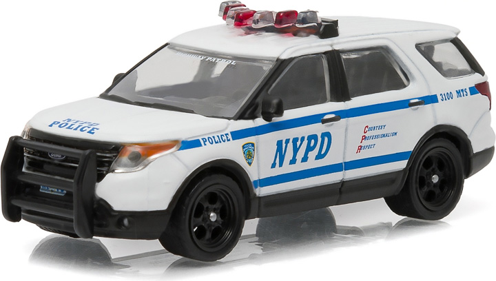 42760-D - 1:64 Hot Pursuit Series 19 - 2014 Ford Police Utility Interceptor