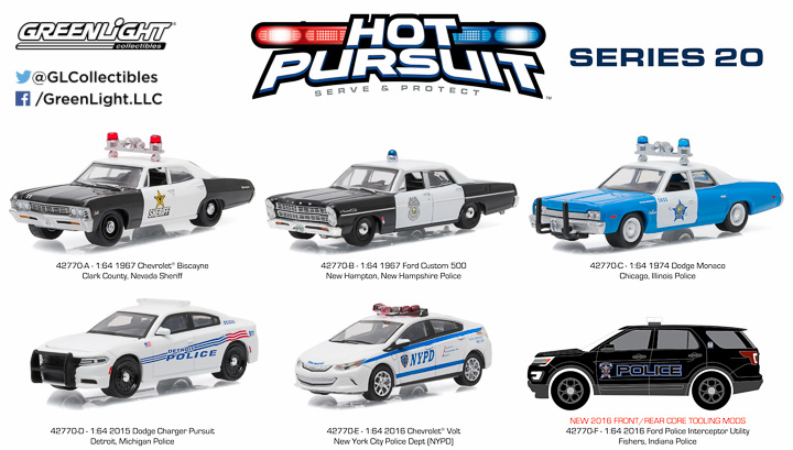 1:64 Hot Pursuit 20