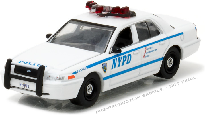 42771 - 1:64 Hot Pursuit - 2011 Ford Crown Victoria Police New York City Police Dept (NYPD)