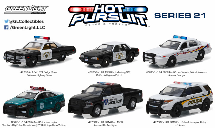 1:64 Hot Pursuit 21