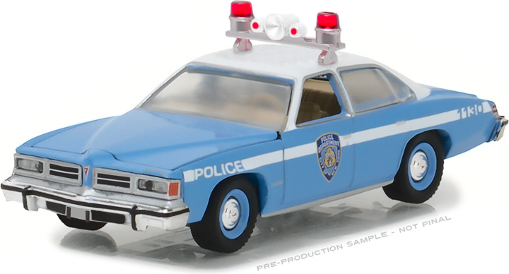 42820-B - 1:64 Hot Pursuit Series 25 - 1976 Pontiac LeMans New York City Police Dept (NYPD)