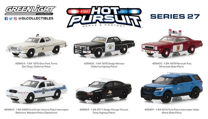 42840 - 1:64 Hot Pursuit Series 27