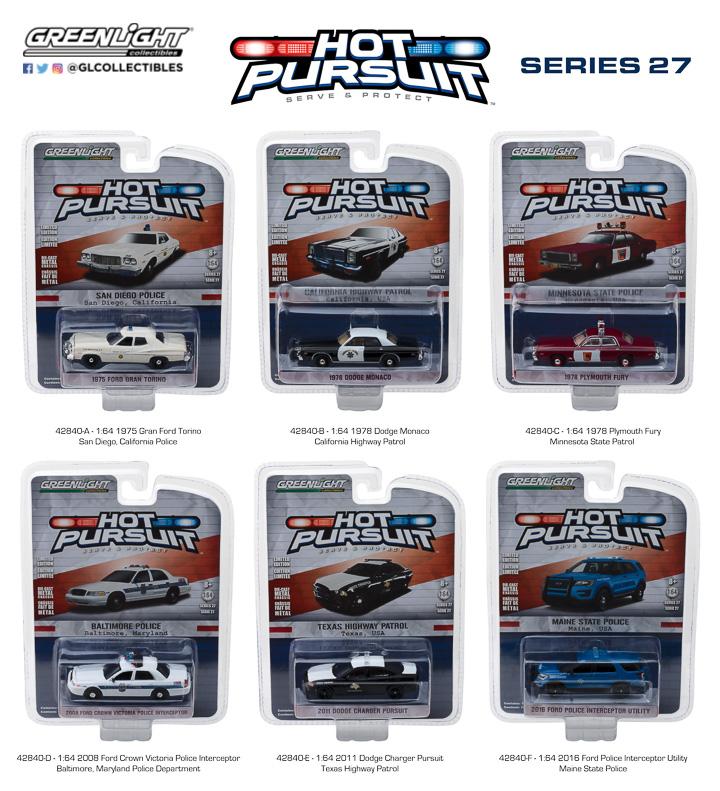 42840 - 1:64 Hot Pursuit Series 27
